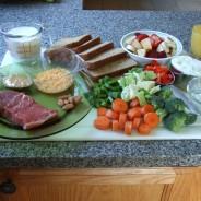 Hranilne in kalorične vrednosti živil