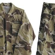 Ponudba vojaških hlač in nahrbtnikov